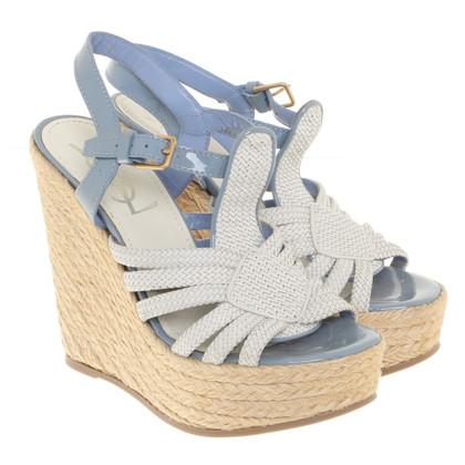 Yves Saint Laurent sandales Wedge