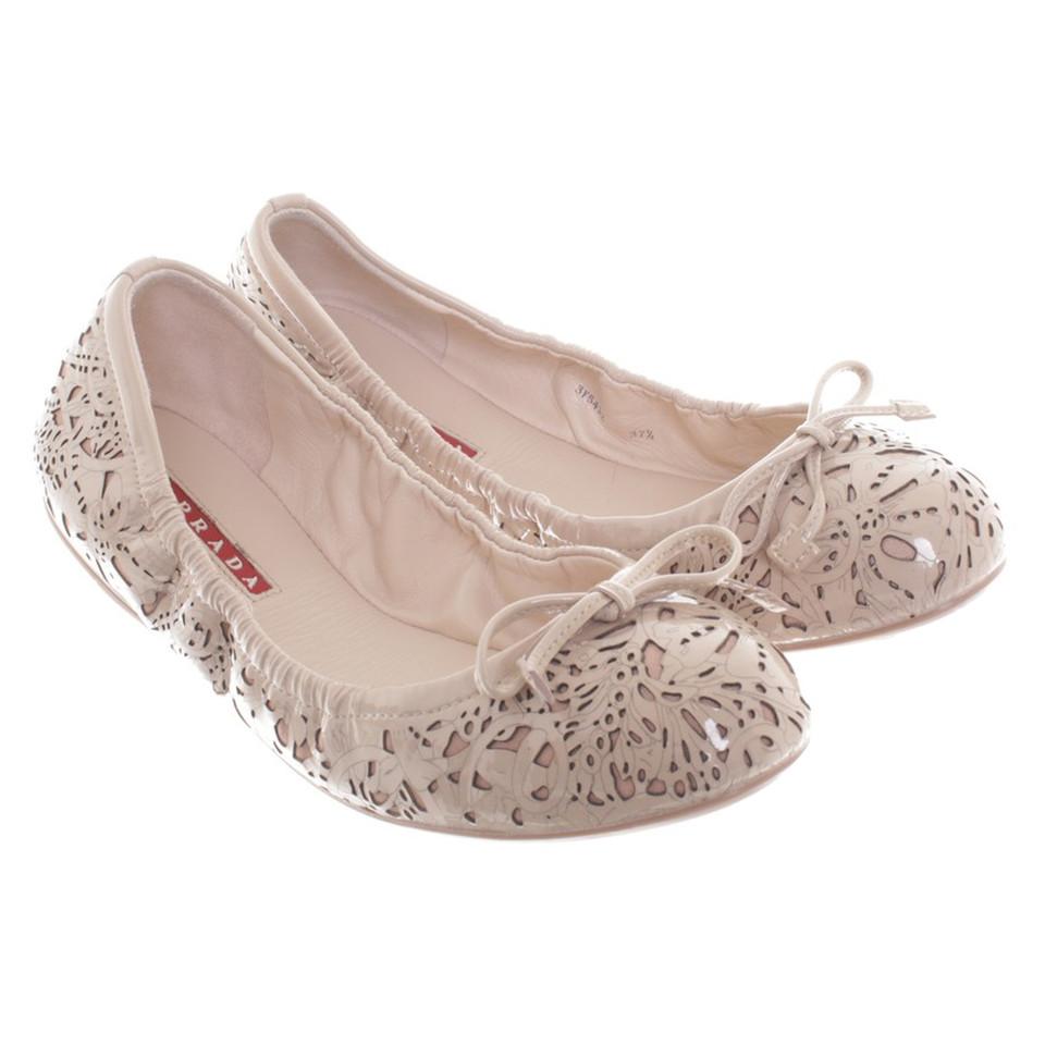 Prada Lackleder-Ballerinas
