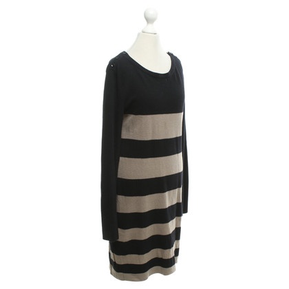 Max & Co Knit dress in black / light brown