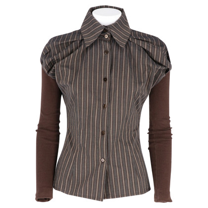 Antonio Marras Blouse with striped pattern