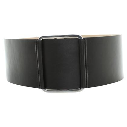 Alexander McQueen riem in zwart
