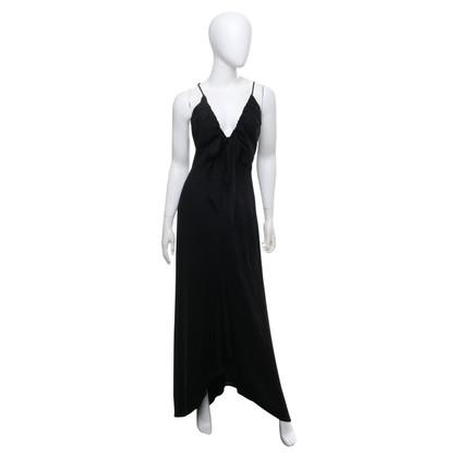 Valentino Maxi-Kleid in Schwarz