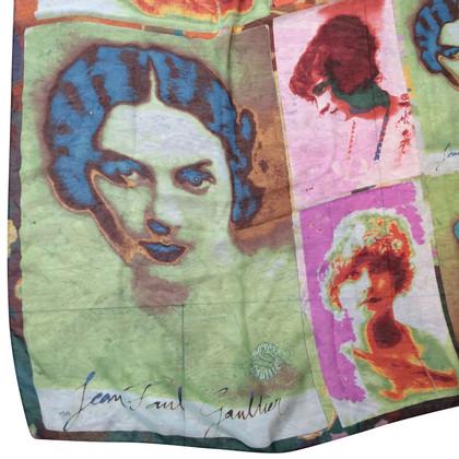 Jean Paul Gaultier zijden sjaal
