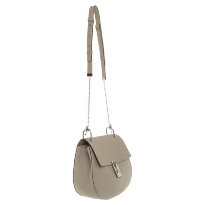 "Chloé ""Drew Bag Medium"" in Grau"