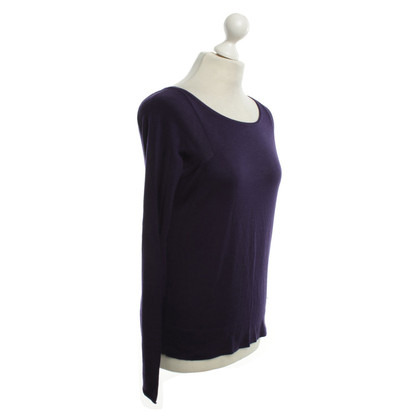 Schumacher top in violet