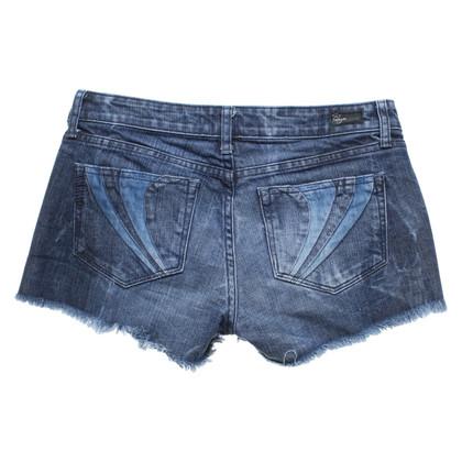 Paige Jeans Short en bleu