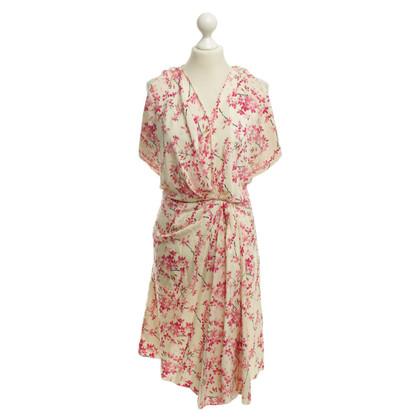 Balenciaga Kleid mit floralem Muster
