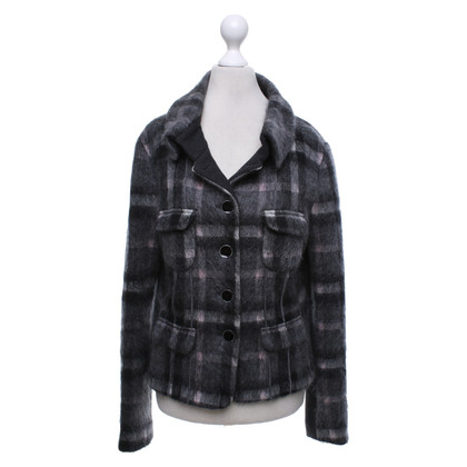 Marc Cain Jacket with checked pattern