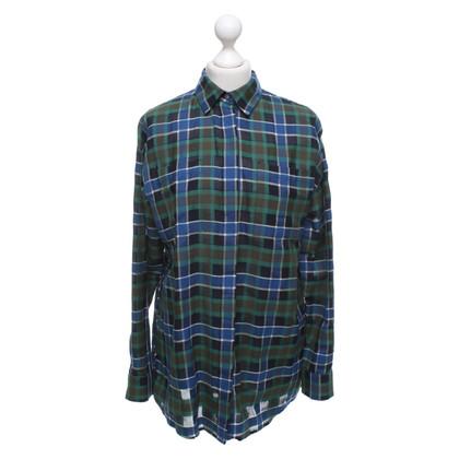 MSGM Blouse met overhemd en ruitpatroon