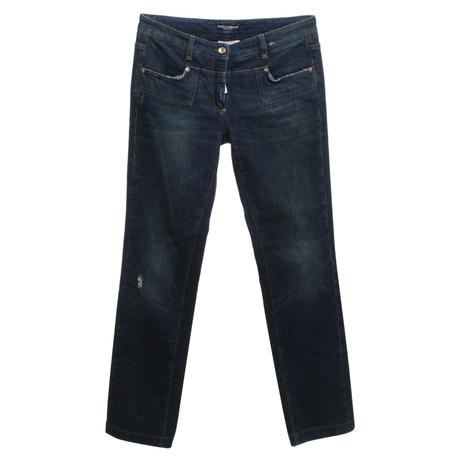amp; Blau Gabbana Gabbana Rei脽verschluss amp; mit Dolce mit Dolce Jeans Blau Rei脽verschluss amp; Jeans Dolce qxUppw