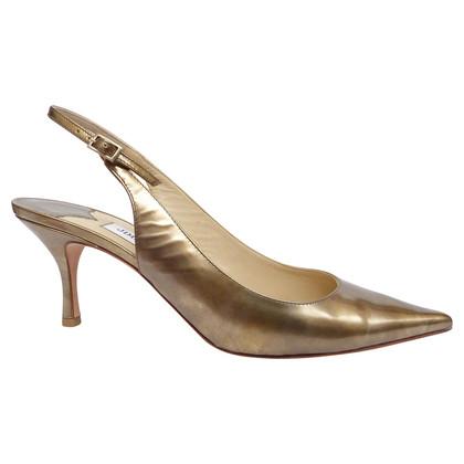 Jimmy Choo Slingbacks with a small heels