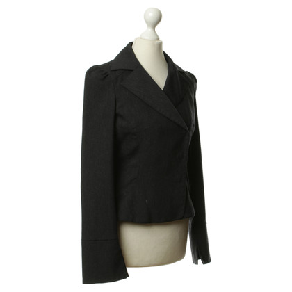 Diane von Furstenberg Short Blazer in grey
