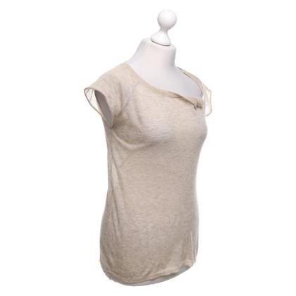 Zadig & Voltaire T-shirt in beige