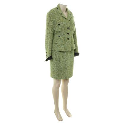 Chanel Tweed-Kostüm mit Muster