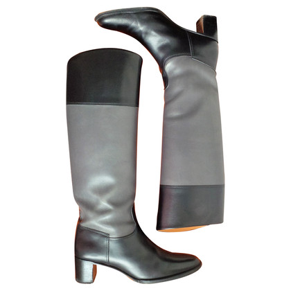 Hermès Stiefel im Reiterlook