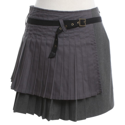 Armani Jeans Pleated skirt in grey