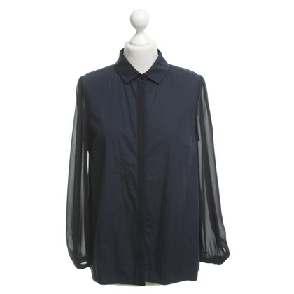 Max Mara Shirt blouse in dark blue