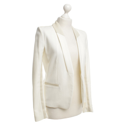 Iro Blazer with leather elements