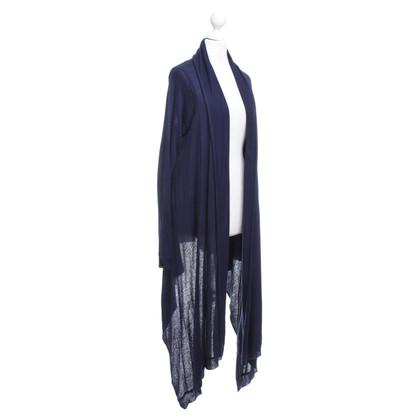 Donna Karan Vest in donkerblauw