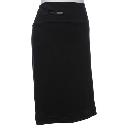 Basler Jersey skirt in black
