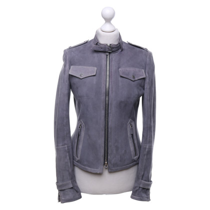Windsor Leather jacket in grey