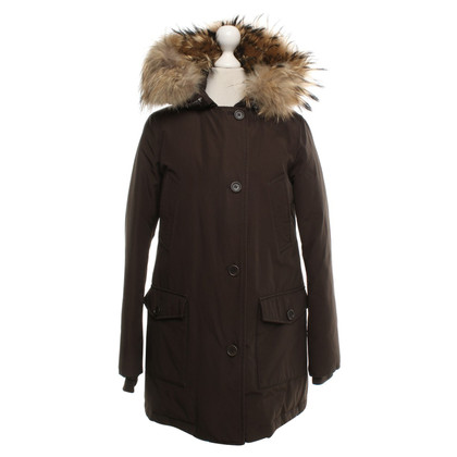 Woolrich Jacket in dark brown