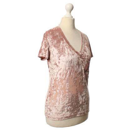 Christian Dior Velvet shirt in pink
