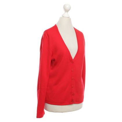 Escada Cardigan in red