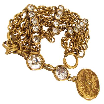 Chanel 5 row bracelet - Santi Steinchen & Medallion