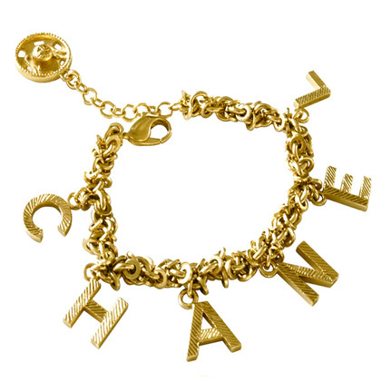 Chanel Charm bracelet with letters and push button