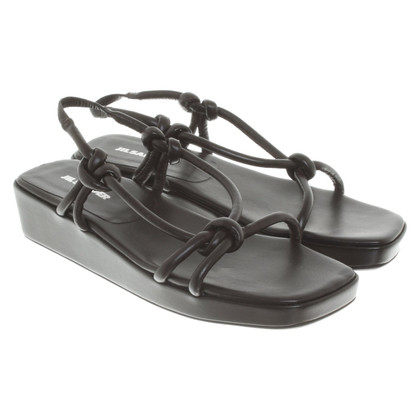 Jil Sander Sandals in dark brown