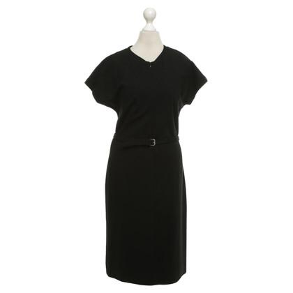 Diane von Furstenberg Jersey jurk in zwart
