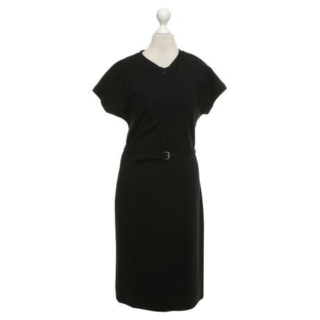 Diane von Furstenberg Jersey-Kleid in Schwarz Schwarz