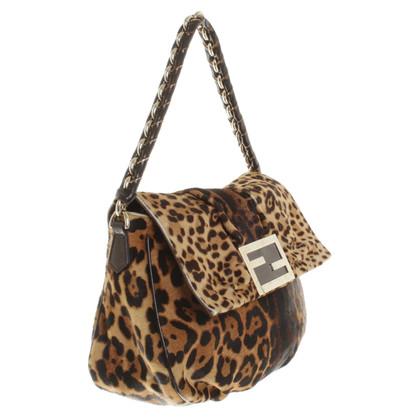Fendi Borsa a tracolla con il modello leopardo