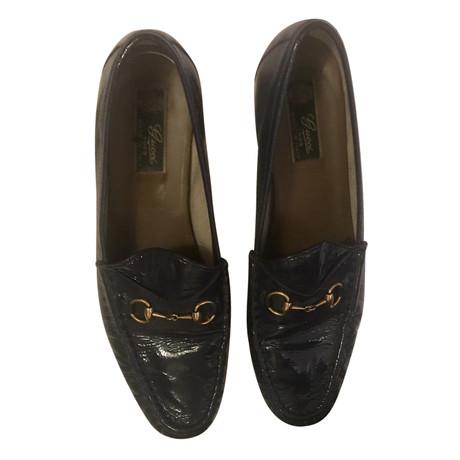 Gucci Loafer in Blau Blau Auslass Hohe Qualität Viele Arten Von Günstiger Online zBdLNH9nD