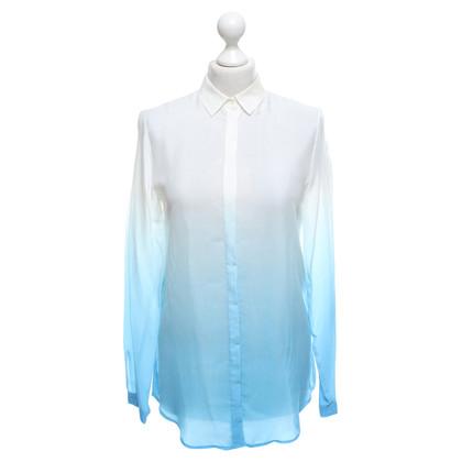 Hugo Boss Blouse in white / blue