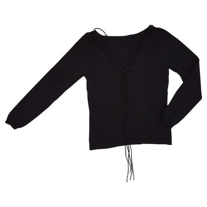 Blumarine Sweater with semi-precious stones