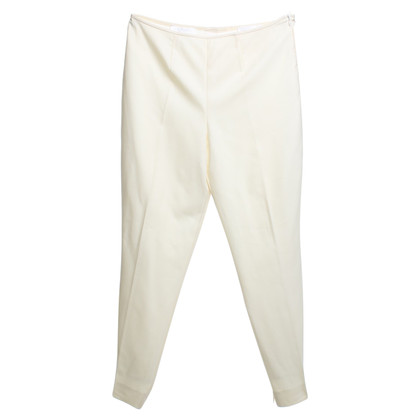 Escada Caprihose in cream white
