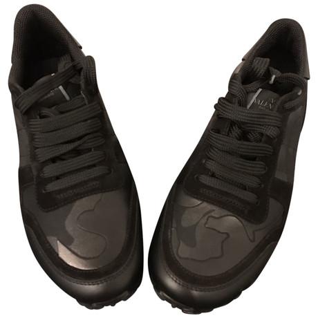 Valentino Sneakers Schwarz Outlet Besten Großhandel Spielraum Perfekt Billigster Günstiger Preis qbXwEx9Yi