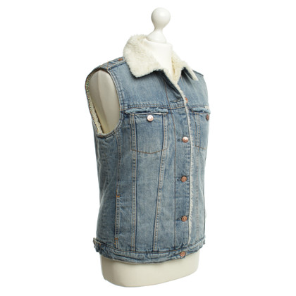 Maison Scotch Denim vest bekleed