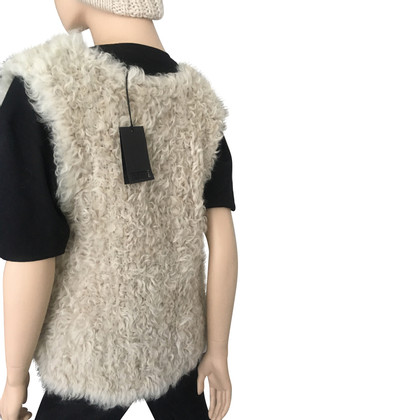 Closed Lam fur vest