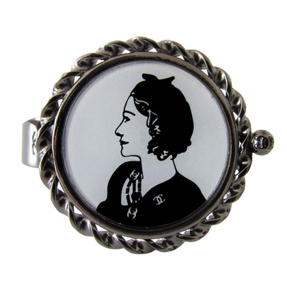 Chanel Bracelet Coco face to face portrait