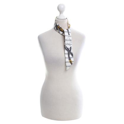 Hermès Twilly zijden sjaal