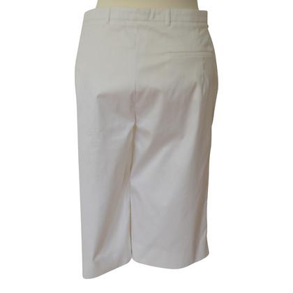 Jil Sander White Bermuda shorts