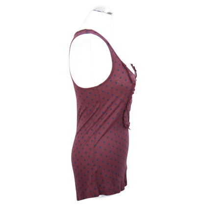 Jack Wills Tank top with dot pattern