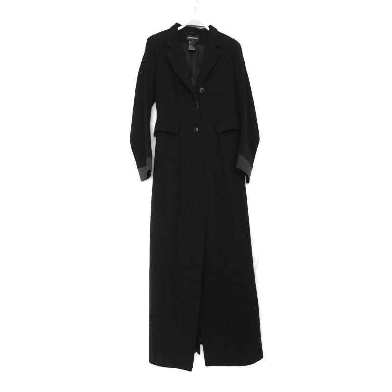 Ann Demeulemeester Slit wool coat