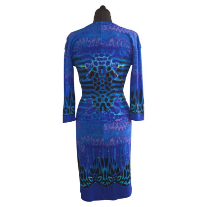 Roberto Cavalli Kleid in Royalblau