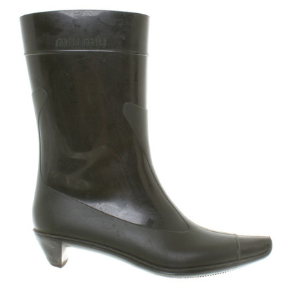 Miu Miu Wellies pizzo