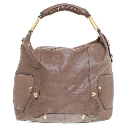 Juicy Couture Leather handbag in khaki