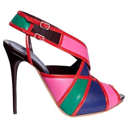 Alexander McQueen Alexander McQueen colour block sandals
